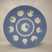 Wedgwood 10th Anniversary Jasperware Christmas Plate