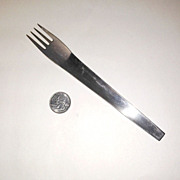 Mid Century Block Chromatics Stainless Dinner Fork