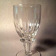 Beautiful Royal Leerdam RONDO Crystal  Water Goblet