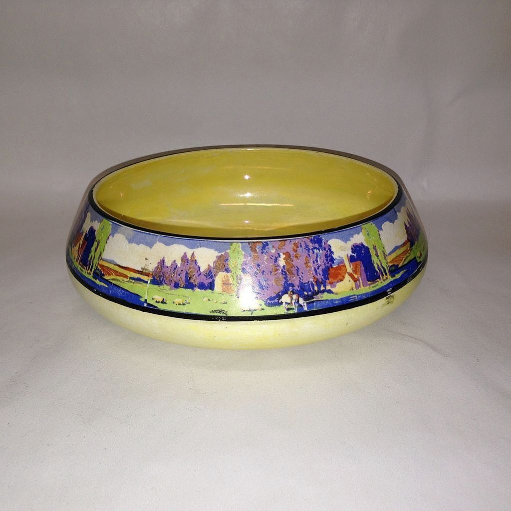English Lancaster & Sons, Hanley Pottery Lustre Bowl