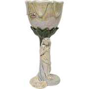 "Fitz & Floyd ""Art Nouveau"" Pattern Goblet"
