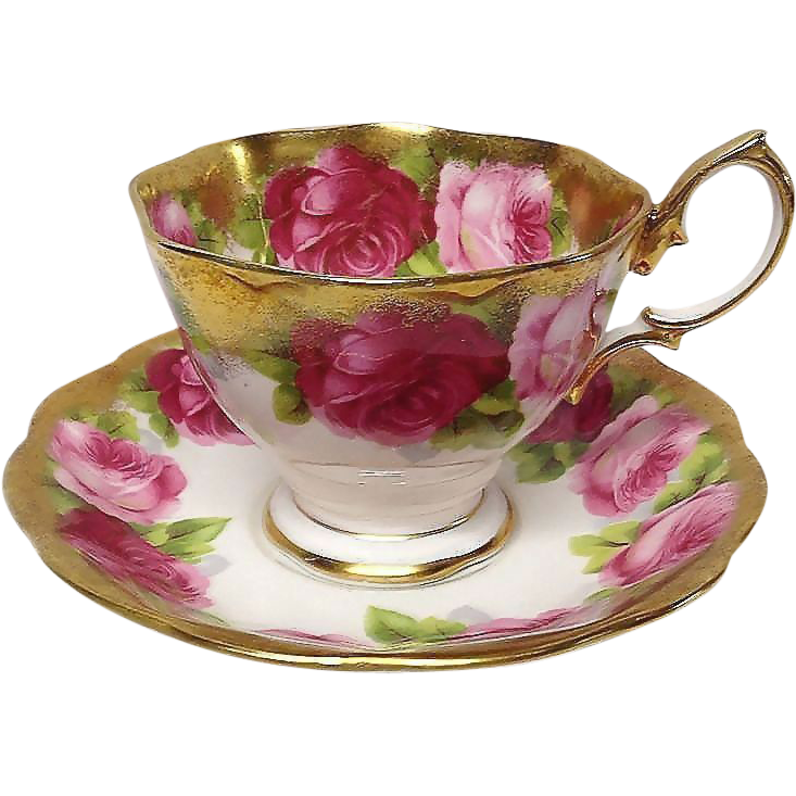 Royal Albert MOTHERS DAY Cup & Saucer, Malvern Shape