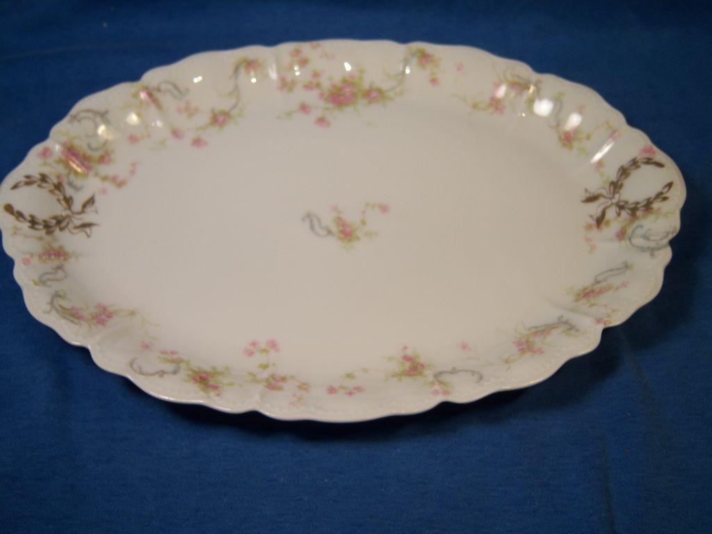 "Haviland ""Princess"" Schleiger 57B Small Oval Platter"