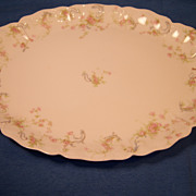 "Haviland ""Princess"" Schleiger 57B Medium Oval Platter"