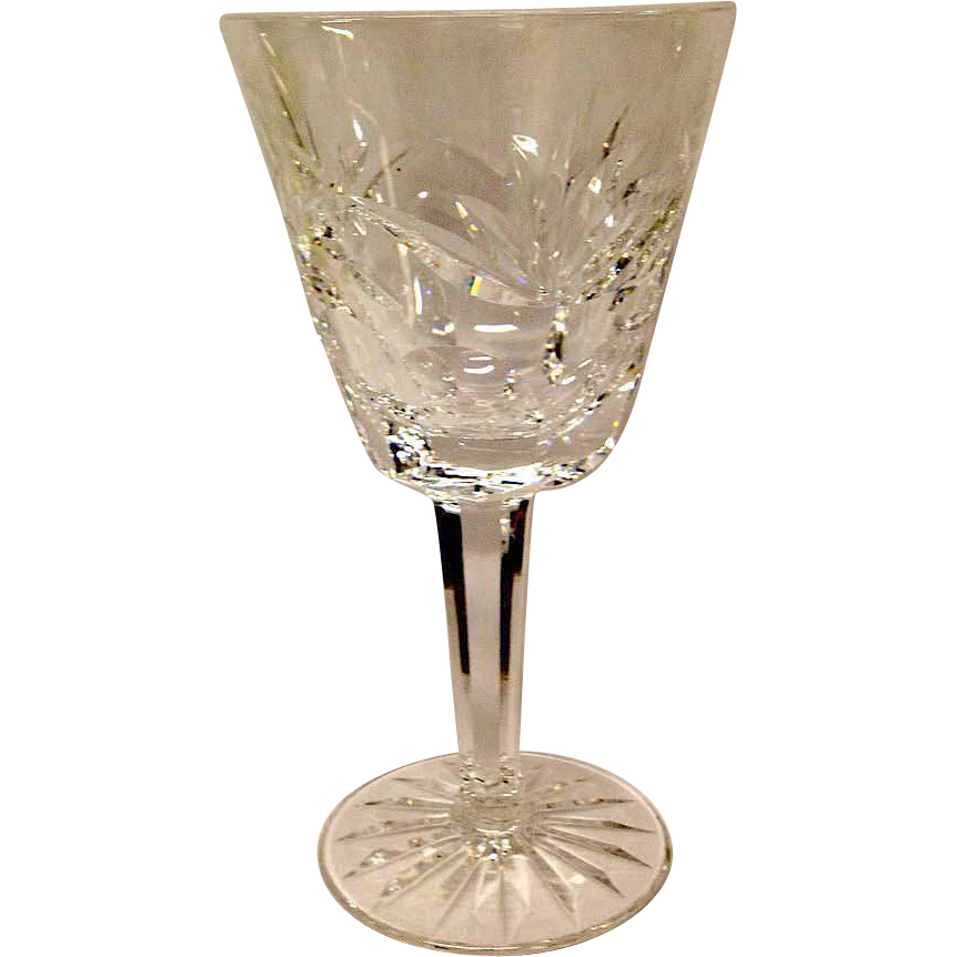 "Waterford Ashling 6 7/8"" Water Goblet"