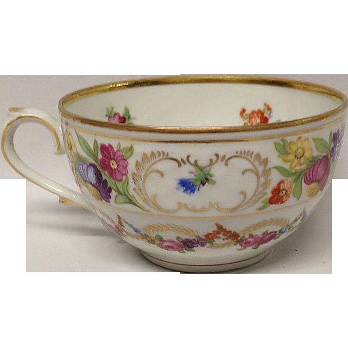 Vintage Schumann Quot Dresden Swags Quot Tea Cup Only Grandview