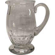 Beautiful Baccarat Bretagne Water Pitcher