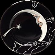 "Fitz & Floyd ""Stardust"" 7 1/2"" Plate"