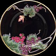 "Fitz & Floyd ""Cloisonne Grape"" 7 1/2"" Plate"