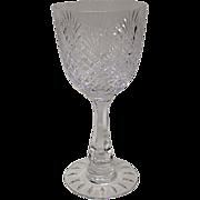 Rare Hawkes Strawberry Diamond & Fan Goblet #7240