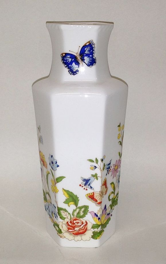 Aynsley Cottage Garden 7 Tall Vase From
