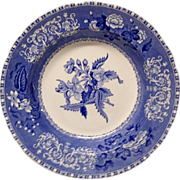 "Spode Camilla Blue Large 9"" Rim Soup"
