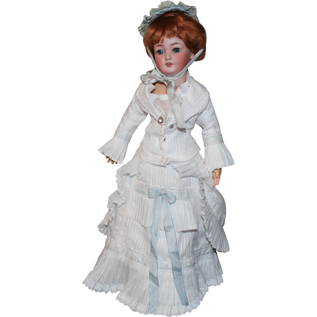 Simon Halbig Antique German Lady Doll # 1159 - 17 inch-A MODERN TWIST!!!