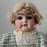 Ernest Heubach - 1902.1, 23.5 inch antique doll/leather body