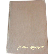 "Published in 1925, a book that features the ""complete works of William Shakespeare"" - very good condition"