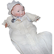 Bye Lo Baby doll by Grace Putnam - 11 inches/10 inch circumference head/blue eyes/excellent