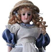 "Antique German ""Alice in Wonderland"" 8 inch doll-Perfect condition"