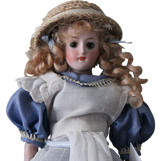 """Antique German """"Alice in Wonderland"""" 8 inch doll-Perfect condition"""