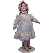 SFBJ - Depose -9/antique French doll/eyes flirt/ 22 inches tall/original undergarments