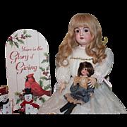 """Kestner #164-""""L/15"""" marked doll. 29"""" Antique German doll - excellent condition"""