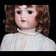 Heinrich Handwerck/Simon Halbig 1 antique doll/orig body/vintage clothing/18 inches