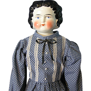 China doll/21.5 inches/Blue Eyes/possible replacement body with new limbs