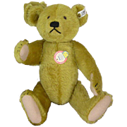 "Steiff ""Petsy"" Bear replica of 1927 original, stands 14 inches; this bear made in 1989=excellent condition"