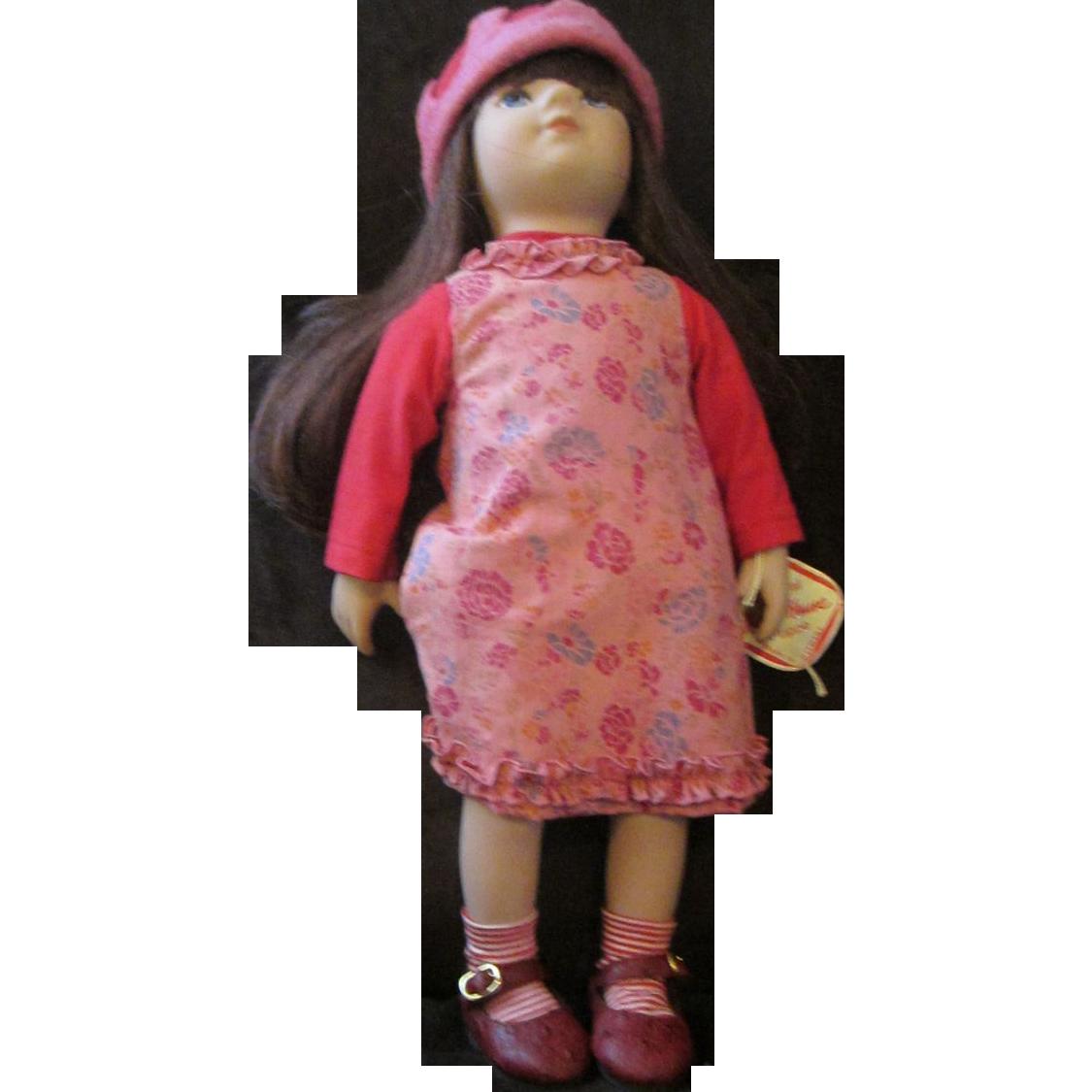 "Kathe Kruse ELEA 18"" play doll in original box gorgeous poseable doll"