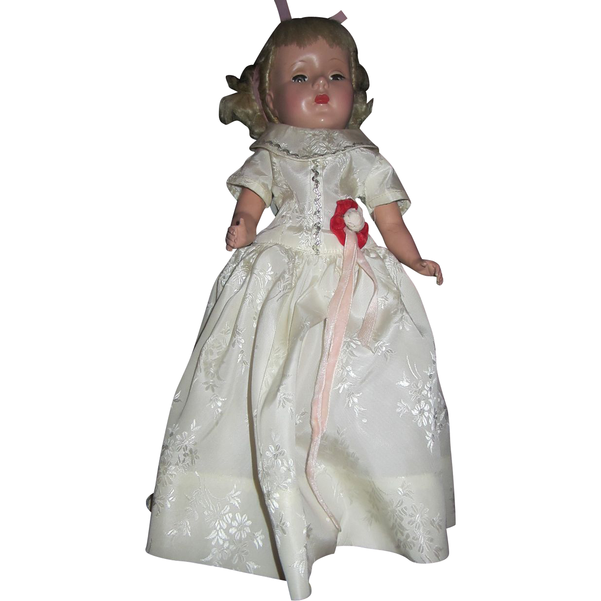 "Gorgeous Sweet Sue 14"" doll in original dress gown blonde pouty"