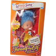 Herself the Elf Willow Song pixie with frog wand MIB Mattel 1982