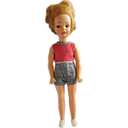 IDEAL Tammy Family Pepper doll in original outfit and shoes 1960's version