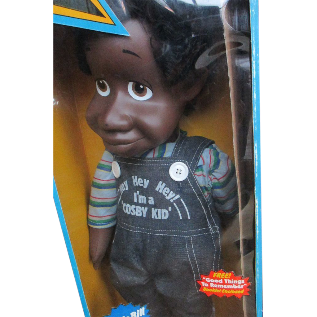 "1985 Remco 22"" Bill Cosby Fat Albert and the Cosby Kids doll MIB"