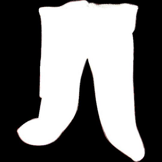 Vintage original white Sasha Baby tights original pair