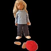 "Vintage Sasha Doll #110 Sasha Blonde Sailing Suit doll 16"" original outfit and box"