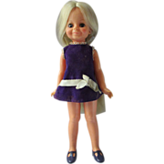 IDEAL Crissy Family little Sister VELVET doll in excellent condition grow hair original outfit