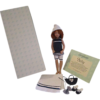 Betsy by Kish and Company Beach girl fine detail limited edition doll 1998