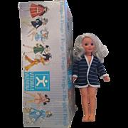 Vintage Vittoria Valentina original FURGA doll with box in original clothes alta moda