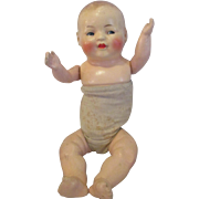 """Armand Marseille AM11 baby doll with googly side glancing eyes 13"""""""