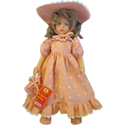 Beautiful LENCI doll Elisabetta Elizabeth in all pink clean with tag pouty girl Italy Limited Edition