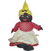 "Vintage all cloth MAMMY doll Black AMericana by Sturar company 16"""