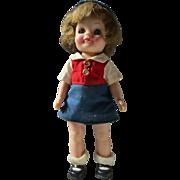 "Effanbee Bluebird Campfire Girl 8"" Scouting doll all original 1965 Fluffy"
