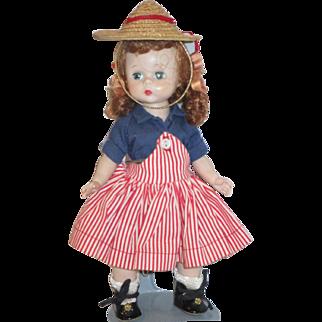 Vintage Madame Alexander Kins Wendy-kins doll in original outfit gorgeous