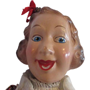Fanny Brice IDEAL dolls Baby Snooks character flexy doll all original 1938