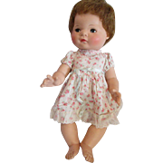 """1950's AMERICAN CHARACTER Doll Baby Toodles Doll 15"""" Baby Toodles"""