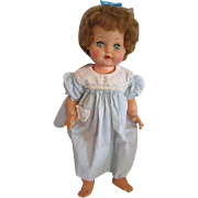 """1959 Ideal Doll B-21-2 Baby Coos Excellent shape 20"""" tall"""
