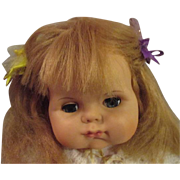 """1963  Very Hard To Find RARE VOGUE Too Dear Baby doll chubby 23"""" Eloise Wilkin"""
