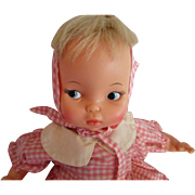 "THUMBELINA DOLL Ideal ""Tabatha Face""  Vintage 1966 Has Working Knob"