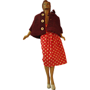 Hard to find Butterick Pattern Junior Miss mannequin sewing fashion doll 1940's