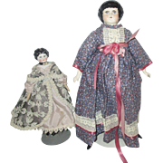 2 Vintage China head dolls that we know nothing about!