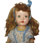 "12"" Arranbee Doll Company All composition doll with 4 teeth on top Nancy"
